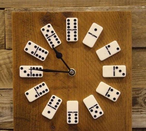 DIY : Horloge domino